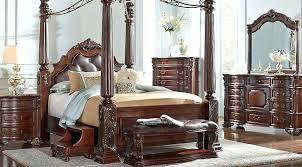 Canopy Bedroom Furniture Sets Walnut 6 King Canopy Bedroom King ...