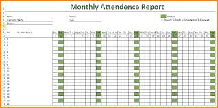 Attendance Tracking Template Extraordinary Vacation Tracker Excel Template 48 Updrillco