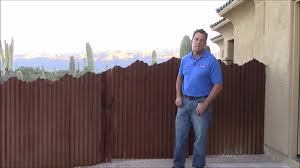 corrugated steel fence with mountain top design affordable fence and gates
