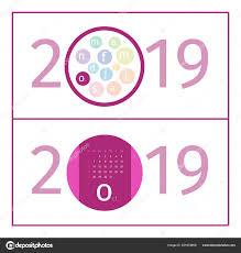2019 October Calendar October Calendar Page Template 2019 Stock Vector Ivn3da 221874650