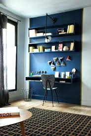 Home office nook Awkward Light Blue Accent Wall Bedroom Navy Show Off The Home Office Nook Color Passion Bold Painted Design Evolutions Inc Ga Light Blue Accent Wall Bedroom Navy Show Off The Home Office Nook