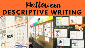 halloween descriptive writing activity eb academic camps a fun and challenging halloween writing activity for your middle school students get them using