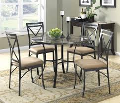 Marble Top Kitchen Table Set Dorel Living Faux Marble Top Dining Table Black Coffee