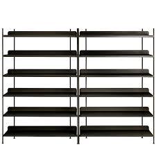 muuto compile shelf configuration 8 black