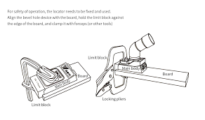 Jayhawk Oval Drilling Chart Ne Hw200 Woodwork Guide Oblique Hole Locator Positioning