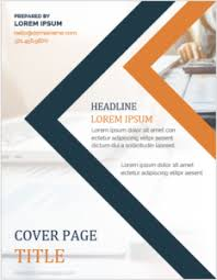 Coverpage Template Ms Word Cover Page Templates