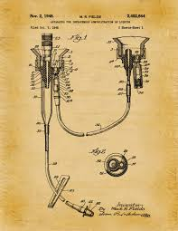 surgical instrument patent 1902 doctor office decor. Brilliant Office Surgical Instrument Patent 1902 Doctor Office Decor Needle  In