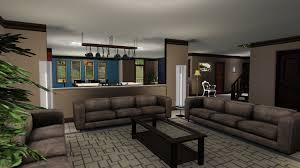 sleek modern furniture. mod the sims frenchy interior design has a mix of sleek modern furniture and dark more r