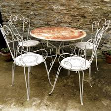 french garden table and chairs patio set