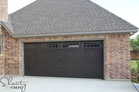 walnut garage doorsGarage Doors  House Update  Shanty 2 Chic