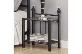 glass top nightstand. Contemporary Glass Livingston Nightstand With Glass Top For F
