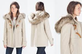 home asos wool blend faux fur hooded duffle coat image alternatetext sandi pointe virtual library of collections