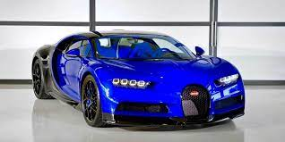 420 km/h, 0 a 100 km/h en. Este Es El Primer Bugatti Chiron Sport De Produccion Personalizacion Visual Al 100