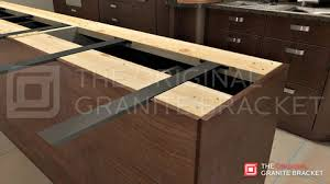 extraordinary countertop brackets in island support bracket the original granite for