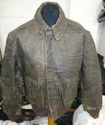 banana republic scovill main zipper men s type a2 flight leather jacket made in usa c 50 1 6 kg