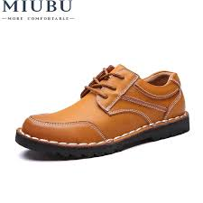 <b>MIUBU Genuine Leather Men'S</b> Shoes Autumn Winter Casual ...