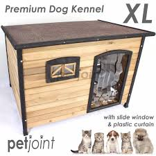xl l xtra large wooden pet dog kennel home timber house outdoo image 1