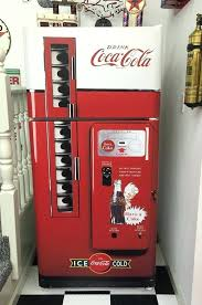 Old Coke Vending Machine Extraordinary Coke Machine Refrigerator What A Totally Cool Way To Dress Up An Old