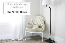 Sherwin Williams Warm Whites Choosing Modern Farmhouse Paint Colors