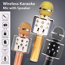 Míc Karaoke Kèm Loa Bluetooth WS 858