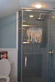 Bathroom Interior Bathroom Guest Shower Remodel With Ocean Glass