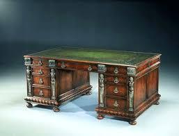 wooden desks for home office. Old Office Desk Home Vintage Design Wooden Desks . For