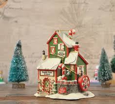 Candy Cane House Decorations Home Decor Candy Cane Corner Hand painted Decorative Ceramic 82