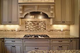 Interior  Cool Kitchen Decoration With Backsplash Behind Stove Backsplas