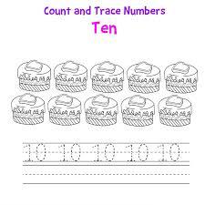 Number 10 Worksheets Printable | Loving Printable