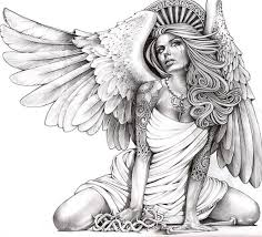 b842d0c7e5a9fe54a60d7aaf9f900410 crying angel by mouse lopez sexy tattooed woman canvas art print on lowrider magazine cover template