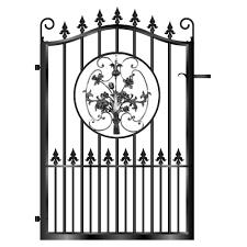 inverness metal path garden gate
