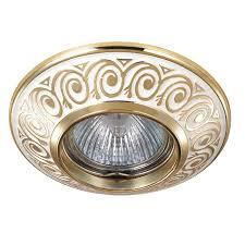 Встраиваемый <b>светильник NovoTech</b> Vintage 04 <b>370001</b> купить в ...