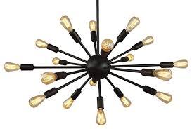 oil rubbed bronze sputnik chandelier