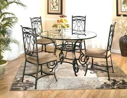 wrought iron furniture designs. Amazing Idea Wrought Iron Dining Table Glass Top Kitchen And Majestic Design Furniture Designs