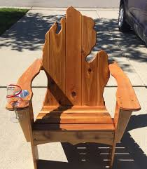 adirondack chair with cup holder and wine glass slot armchair drink these for large throws replacement patio cushions clearance shaped sectional sofa