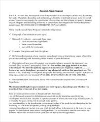 research paper proposal sample research paper topic proposal format