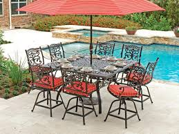 pub height patio table bar height patio table and chairs beautiful bar height patio set with