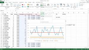 Attribute Chart Attribute Control Np Chart Ms Excel