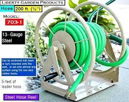 self winding hose reel matic easy wind reels level garden costco