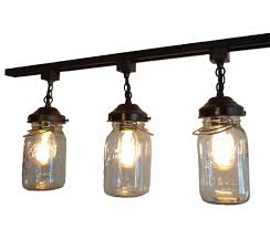 Vintage track lighting Industrial Chic Load Image Into Gallery Viewer Mason Jar Track Light Of Vintage Quarts The Lamp Goods Mason Jar Track Light Of Vintage Quarts The Lamp Goods