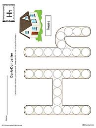 Do A Dot Letter H Worksheet Color