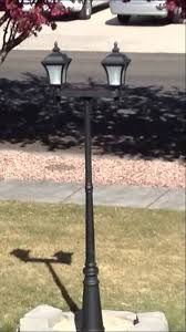 costco solar lamp post