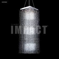 james r moder 40403s22 crystal rain 9 light entry crystal chandelier in silver with imperial crystal clear