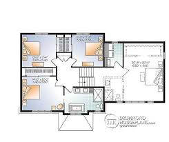 Small Picture House plan W3881 detail from DrummondHousePlanscom