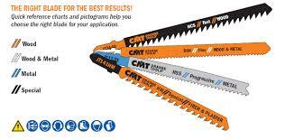 Soff Cut Blade Color Chart Jig Saw Blades Cmt Usa