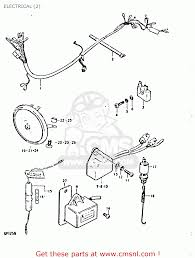 suzuki gp125u 1978 c e01 e02 e04 e06 e13 e14 e17 e18 e21 e22 electrical 2 schematic
