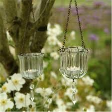 Hanging Teardrop Votives / Glass Tealight Holders