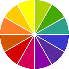 Here we got six additional colors (blue-purple, blue-green, yellow-green,  yellow-orange, red-orange, and red-purple) all being made by mixing one  primary ...