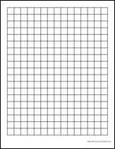Printable Graph Paper 1 Inch Squares Download Them Or Print