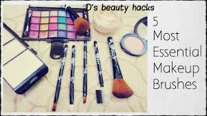 5 most essential makeup brushes basic makeup brushes for beginners